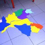 puzzle di regioni con italia settentrionale completata
