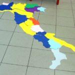 italia con regioni completa